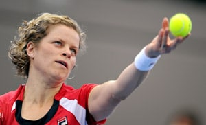 Clijsters chasing match practice in Brisbane