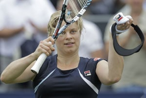 Kim Clijsters plays at Wimbledon for last time