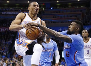 NBA: Los Angeles Clippers show West title credentials, beat Oklahoma City Thunder 125-117