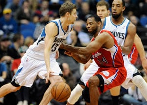 Los Angeles Clippers sweep past slumping Minnesota Timberwolves