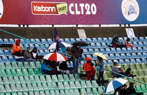 CLT20: Delhi vs Auckland match washed out