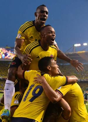 Colombia on the brink of World Cup after defeating Ecuador
