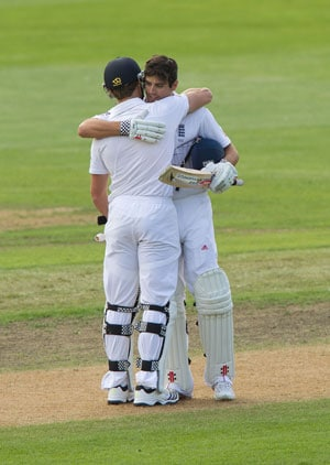 Cook, Compton lead England's fightback with gritty centuries