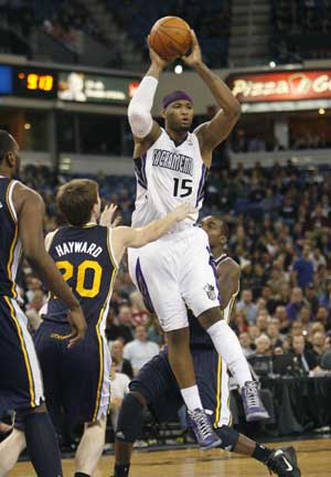 Cousins has 22 and 18, Kings silence Jazz 103-96