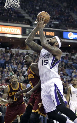 NBA: Sacramento Kings rout Cleveland Cavaliers 124-80