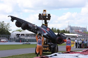 F1: Worker at Canadian GP dies after run over by crane