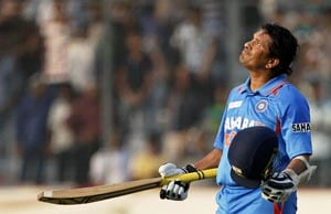 Sachin Tendulkar, the master who was born to bat