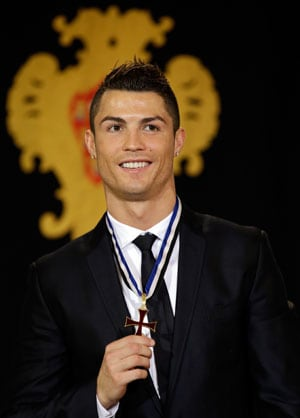 Cristiano Ronaldo gets top Portuguese honour from President