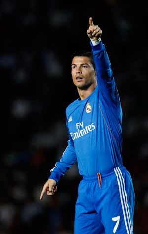 Cristiano Ronaldo's twin strikes help Real Madrid beat Elche