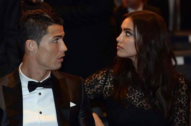 Cristiano Ronaldo-Irina Shayk, husband and wife?