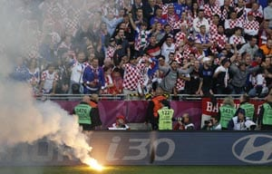 Euro 2012: Croatia fined 80,000 euros for racist chanting