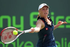 Wozniacki, Li win, reach New Haven semis