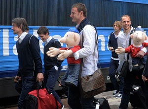 First teams arrive in Poland for Euro 2012