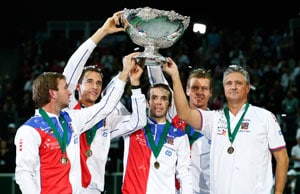 Czech Republic beat Spain to secure Davis Cup win