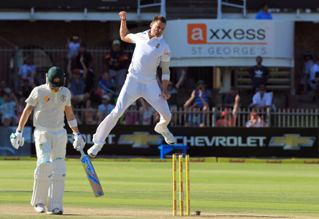 South Africa skipper Graeme Smith pays tribute to 'killer' Dale Steyn