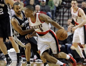 Portland Trail Blazers inflict second straight loss on San Antonio Spurs