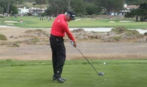 Daniel Chopra struggles at Pebble Beach