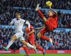 Daniel Agger on target as Liverpool beat Southampton