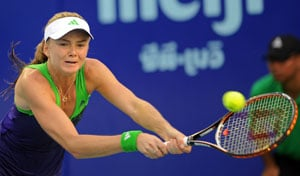 Top-seeded Hantuchova ousted at Quebec