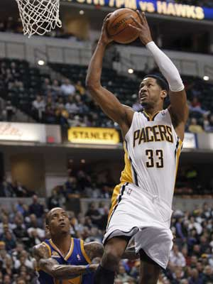 Grangers 25 lead Pacers past Warriors