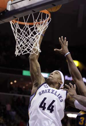Dante Cunningham's tip saves Grizzlies vs. Nuggets