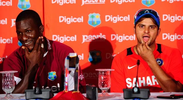 ICC World Twenty20: Darren Sammy hits back at Suresh Raina's 'sixes' remark, says stop us if you can