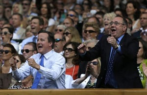 Wimbledon 2013: A privilege to watch Murray make history, says David Cameron