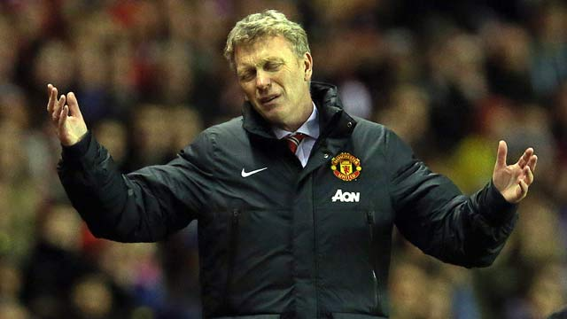 David Moyes laments Manchester United's 'school-boy error' against Bayern Munich