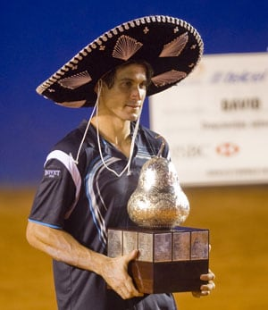 David Ferrer cruises to Mexican Open title