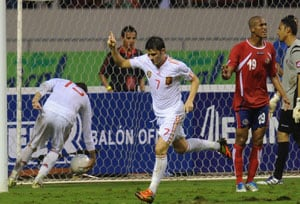 Spain salvage draw in Costa Rica
