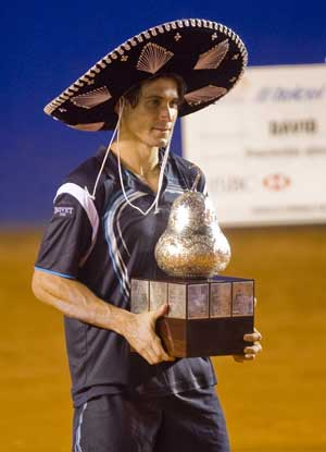 David Ferrer nabs another Acapulco crown
