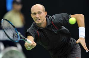Nikolay Davydenko ousted in Montpellier ATP