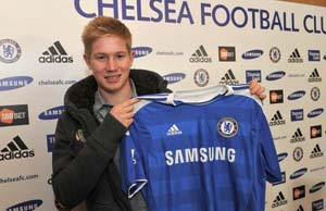 Chelsea sign and 'lease back' de Bruyne