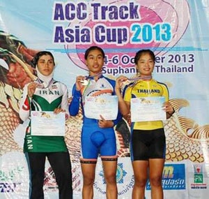 Indian cyclists win one gold, three silver on opening day of Asian meet