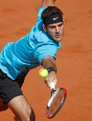 del Potro emerges winner in a hard-fought match