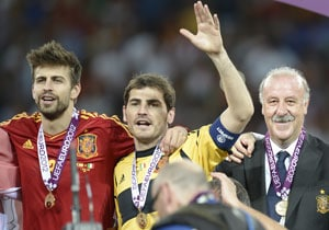 Euro 2012: Vicente Del Bosque lauds Spain's gilded generation