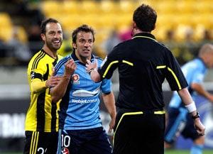 Losing start for Alessandro Del Piero in Australia