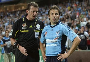 Alessandro Del Piero returns but Sydney FC still loses