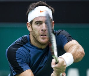 Juan Martin del Potro beats Paul-Henri Mathieu in Swiss Indoors quarters