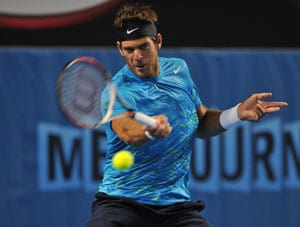 Del Potro ousts Taiwan's Lu in third round