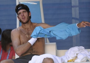 Del Potro happy with progress despite Federer loss