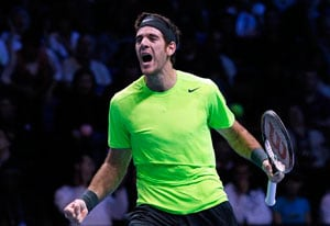 Juan Martin del Potro beats Marcos Baghdatis to enter Swiss Indoors quarter-finals