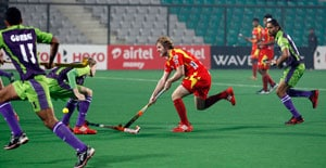 Delhi, Ranchi settle for draw in Hockey India League
