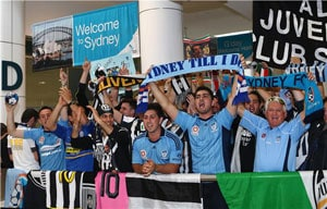 Hundreds greet Alessandro Del Piero in Australia