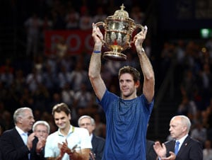 Roger Federer loses in final as Juan Martin del Potro retains Basel title