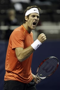 Del Potro hits back to down Gasquet