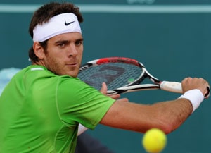 Del Potro withdraws from Queen's because of injury