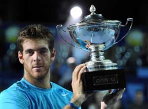 Del Potro cruises to Marseille title