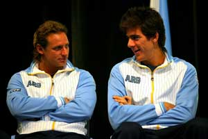 Del Potro and Nalbandian to play against Croatia