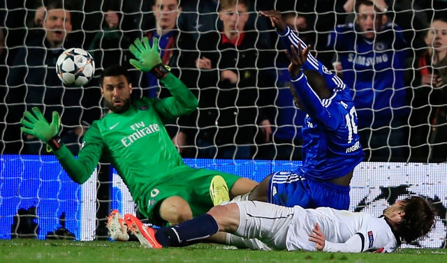Demba Ba breaks Paris Saint-Germain hearts as Chelsea reach UEFA Champions League semis